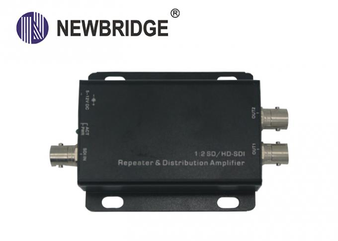 HD SDI Signal Repeater 1 To 2 Repeater With BNC Connector