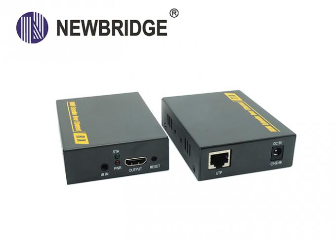 400mA Fiber Optical Hdmi Extender Compliance With HDMI 1.3 / HDCP 1.2 Standard