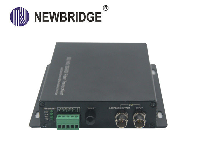 3G HD SDI optical extender with Single Mode Single Fiber