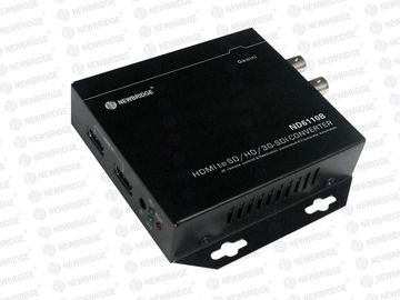 Professional Sdi To Hdmi Mini Converter , Fiber Optic To Sdi Converter