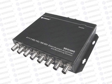 HD-SDI Distribution Amplifier SD/HD/3G-SDI 1 to 4 Distribution Amplifier​