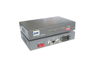 China MM 850nm Rack Mount Media Converter , Media Converter Rack Full / Half Duplex Self Adapt factory