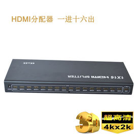 China 4K 1.4b 1 x 16 HD HDMI Splitter 1 in 2 out in HDMI Splitter,support 3D Video factory