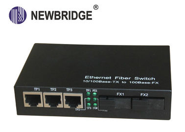 1310nm 20km 10M /1000Mbps Fiber To Ethernet Media Converter Single Fiber Single Mode