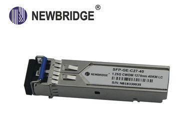 China CWDM SFP Transceiver Module 1.25Gbps SC/FC/ST Fiber Connector Long Service Life factory