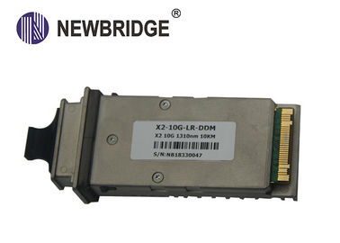 Single Fiber SFP Optical Transceiver Module 10 Gigabit X2 3.5W Low Power Consumptionor